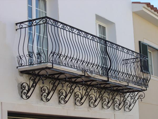 Barandillas de hierro barandillas de hierro aluminio y acero inoxidable talleres mascar - Barandillas de hierro ...